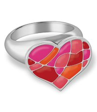 JRR028-8 Puzzle My Heart Ring